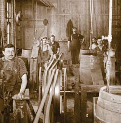 Utica Cutlery factory, circa 1920's