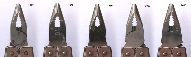 SwissTool Plier Head Evolution