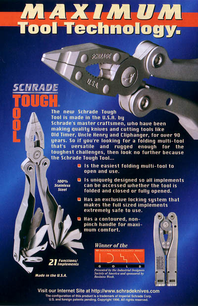 Schrade ST1 Tough Tool Sept98