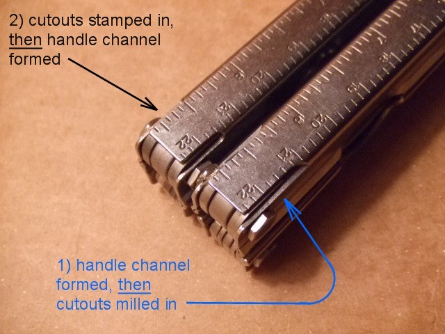 short stamped -vs- long milled reliefs