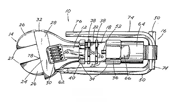 cool tool patent drawing